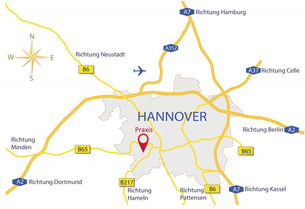 Praxisstandort COS Zahnärzte Hannover